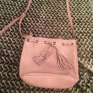 American eagle nude pink purse